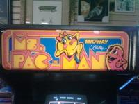 Hi,we have a dedicated MS PAC-MAN for sale here @