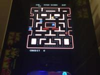 Ms Pacman multicade arcade game in the classic