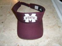 NWOT never worn MS State Adidas visor. Email or text