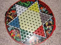 Vintage 1950's STEVEN PIXIE 2in1 GAME TIN CHINESE