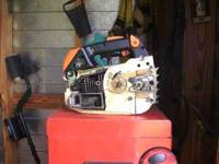 MS200T Stihl Chainsaw for sale, runs great but sprocket
