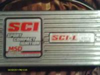 I have a MSD SPORT COMPACT IGNITION SCI-L box pn:6320