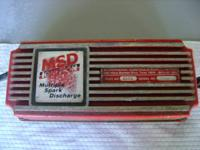 For sale 1- MSD multiple spark discharge box in great