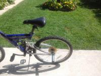 Good shape 18 speed dual suspension technology  ask $80