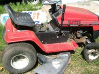 "MTD 12HP 38"" RIDING MOWER $350 JB  // //]]>"