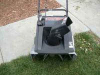 HERE IS A USED MTD YARD MACHINE SNOW BLOWER, 4.5 HP 2
