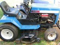 "MTD GARDEN TRACTOR TWIN 18HP 46"" CUT. HAVE: tune-up,"