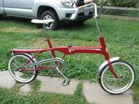 "Very nice ""Made in Cleveland"" MTD HI LO bike which"