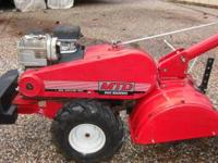 MTD reartine tiller with dual directional tines,