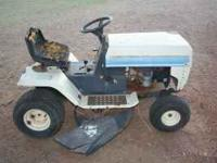 I have a MTD LT riding lawnmower for sale. It has a