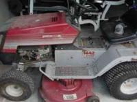 Riding lawn mower for sale, the starter is out. Before
