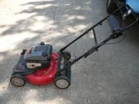This is a very nice MTD self propelled mower It has