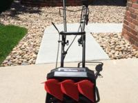 "MTD - Yard Machines Snow Fox 12.5"" electric snow"