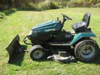 MTD YARD MACHINE 20HP 42 INCH CUT. BLOWN MOTOR WITH