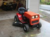 Hello here is a MTD Yard Machine that my dad rebuilt.