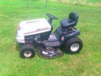 "Forsale a MTD Gold Riding Lawn Mower, Features 42"" Deck"