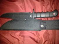 I am selling my knife because I really need money for