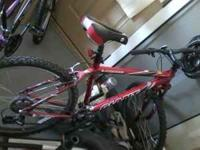 selling a really awesome hardly ever ridden mtn. bike i