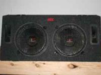 MTX Road Thunder Subs * Well maintained sub woofers in