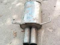 Muffler is used and in good condition. Call me and