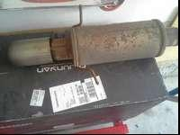 I have an after market Magnaflow Muffler with a 3 inch
