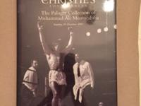 I have a huge stock of Muhammad Ali auction catalogs in