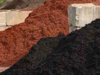 Mulch for sale. We have all colors and natural mulch as