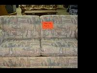 Nice multi-color sleeper sofa for only $125 Wendy's