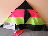 "$5. Kite Multi Colored Spinnaker Delta Wing 52"" Wing"