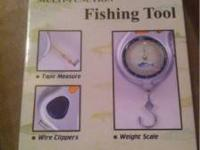 I have 6 multi function fishing tools brand new in