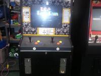 Original Golden Axe cabinet.  New joystick, harness,