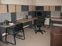 We have a multi-piece desk system that can be sold as
