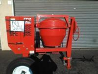 Brand new Multi Quip Concrete Mixer comes with manual