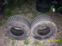 i have two really nice multi trac tires can be used for