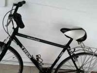 I have a green and white Trek road bike for sale. I
