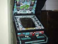 60-1 full size arcade video game. Cabinet is in great