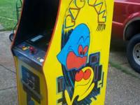 Original Pac Man arcade game with multipac kit