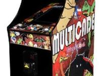 BRAND NEW Multicade Cocktail or Upright Arcades. Play