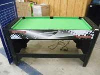 Multigames tables, pool, air hockey, ping pong with
