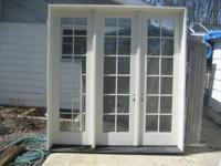 I am selling (10) french doors that ended bought. Note: