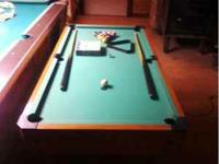 Hi i have a multi game table for sale great condition