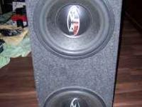 I have a pair of rockford fosgate subs in an enclosed