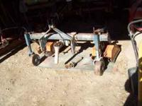 Multivator: Tractor Mounted Tiller Size - Catagory 1