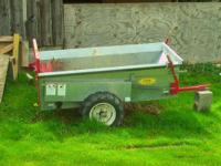 im selling my manure spreader, it was hardly used,