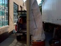 This a Murphy-Rodgers dust collector it has a 2 HP 3 PH