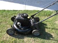 "MURRY LAWN MOWER 20"" CUT adjustable height , RUNS GREAT"