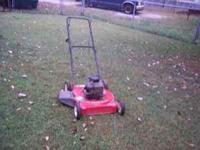 I HAVE A MURRAY 22' 4 HP BRIGGS@ STRATTION ENGINE