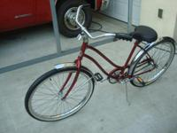 This Vintage beach cruiser is in like new condition. it