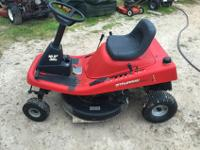 "Murray 30"" 10.5 hp Rear Engine Riding MowerAsking $550"