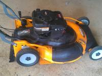 Yard King 26 inch large area mower. Self propelled